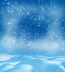 Christmas bright background. Winter Christmas background for design and greeting cards