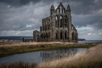 Whitby seaside town in the North East of England and a great place for photography