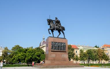 The monument of Kralj Tomislav - First King of Croatia