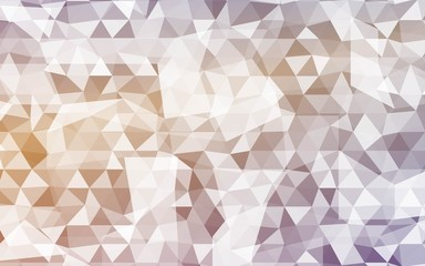 Vector Background. Color Geometric Triangles Pattern. Vector Illustration. Creative Design Template. For Your Design, Business