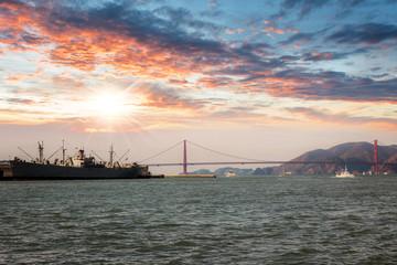 Francisco at sunset