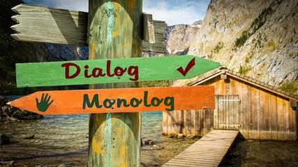 Schild 353 - Dialog