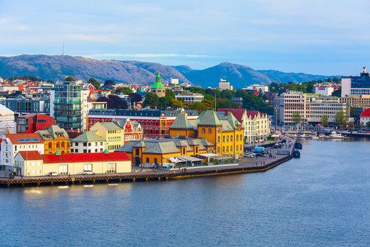 Stavanger, Norway city view