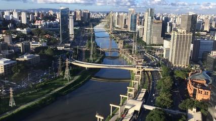 Marginal Pinheiros - Ponte Estaiada