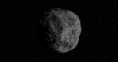 The 101955 Bennu, a carbonaceous asteroid in the Solar System,  a potentially hazardous object impacting the Earth in the future.