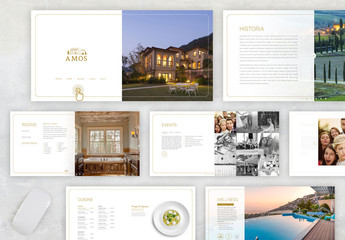 Interactive Brochure Layout