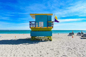 16th Street lifeguard station, Miami Beach