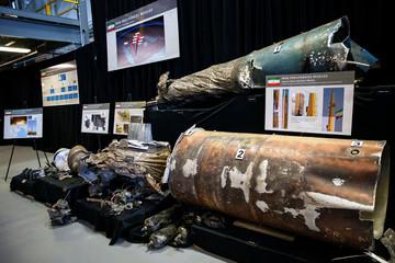 Iranian Material Display at a Military Base in Washington