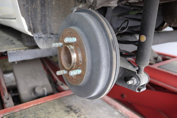 drum car brake system