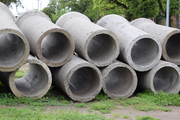 pipes for laying underground water and sewage