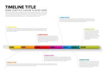 Timeline Infographic Layout