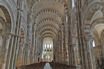 Vezelay, l'Abbazia di Santa Maria Maddalena - Borgogna