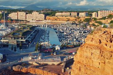 Neighborhood of El Toro and Port Adriano, Mallorca, Spain