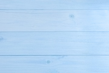 Blue wooden boards texture and background