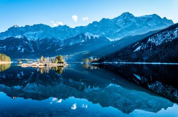 eibsee lake in germany