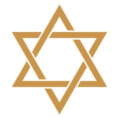 Star of David - Gold Star of David design
