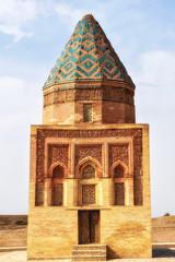 Il-Arslan or Fakhr At-Din Razi mausoleum at Kunya-Urgench, Turkmenistan