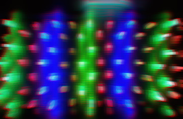 Retro wave vcr 3d extruded cubes abstraction background