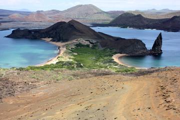 Pinnacle Rock e i vulcani dell'Isola di Bartolomè, Galapagos
