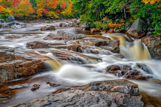 Smooth Water in Fall,, Vermont