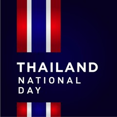 thailand national day vector design