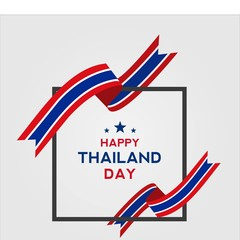 thailand national day vector design