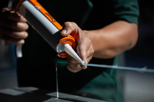 Silicone adhesive for general and industrial applications