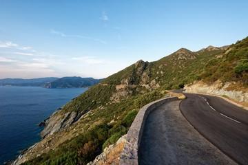 Korsika - Cap Corse - Straße