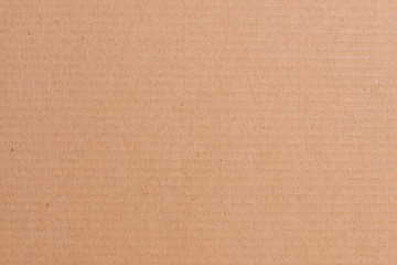 Brown cardboard sheet of paper, abstract texture