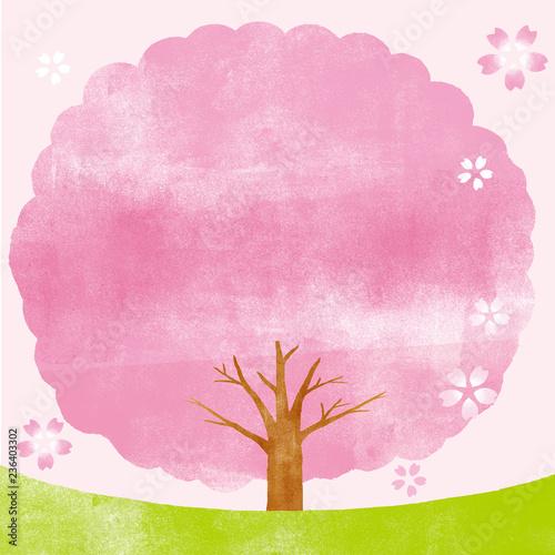 桜の木 背景イラスト Stock Photo And Royalty Free Images On Fotolia