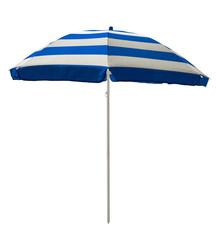 Beach umbrella - Blue striped