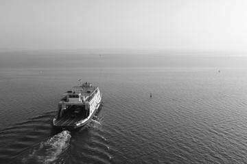 Fähre, Schiff, Meer, Wassertransport