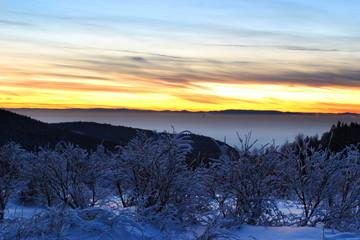 Sonne und Eis, Panorama Ausblick