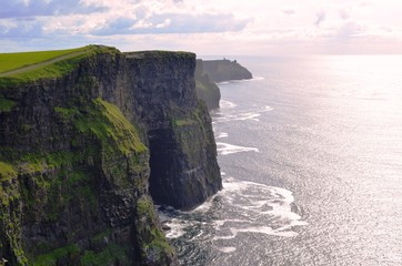 Beautiful day at the Cliffs of Moher