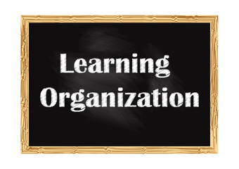 Learning organization blackboard business notice Vector illustration for design