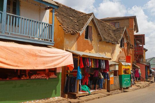 Hauptstrasse in Ambositra