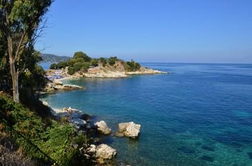 Korfu, Küste bei Kerkyra