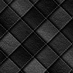 leather patchwork background