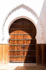 Details of a door in Morocco