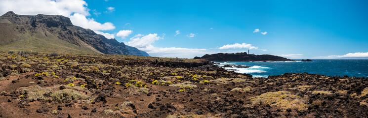 Wonderful natural pool at the Tenerife island