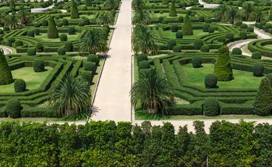 french style garden in Nong Nooch Tropical Botanical Garden