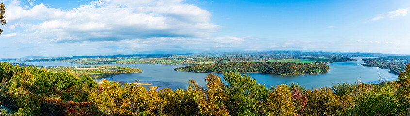 Lake Champlain lookout from Fort Ticonderoga, NY