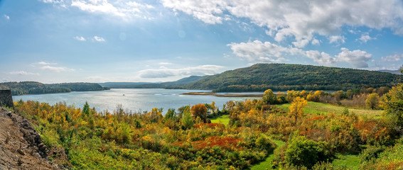 Fort Ticonderoga, New York Autumn