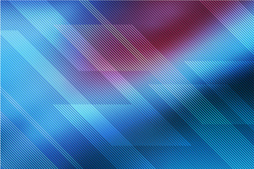 Blue abstract background for card or banner with lines. illustration technology.