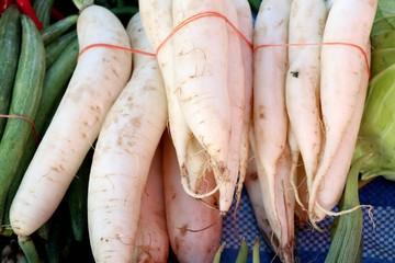 radish at street food