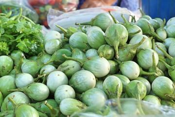 eggplant at street food