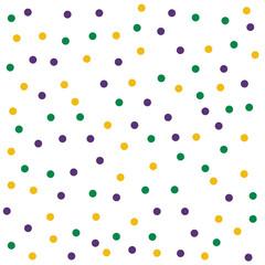 Celebration mardi gras party background template vector illustration