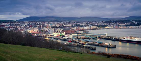 Panorama of Douglas