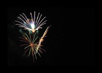Feuerwerk, Happy new yaar 2019
