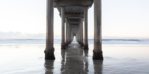 Scripps Pier with Working Space High Key